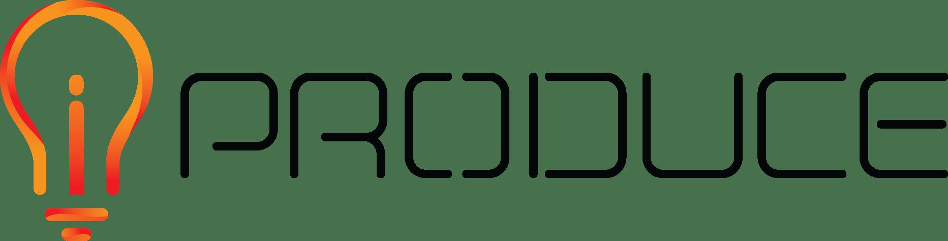 iProduce Black Logo