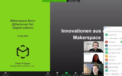 German cMDF at the Hannover fair: How SMEs can benefit from MakerSpaces for their product development