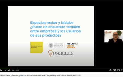 iPRODUCE partner VLC takes the project to the Maker Faire Galicia